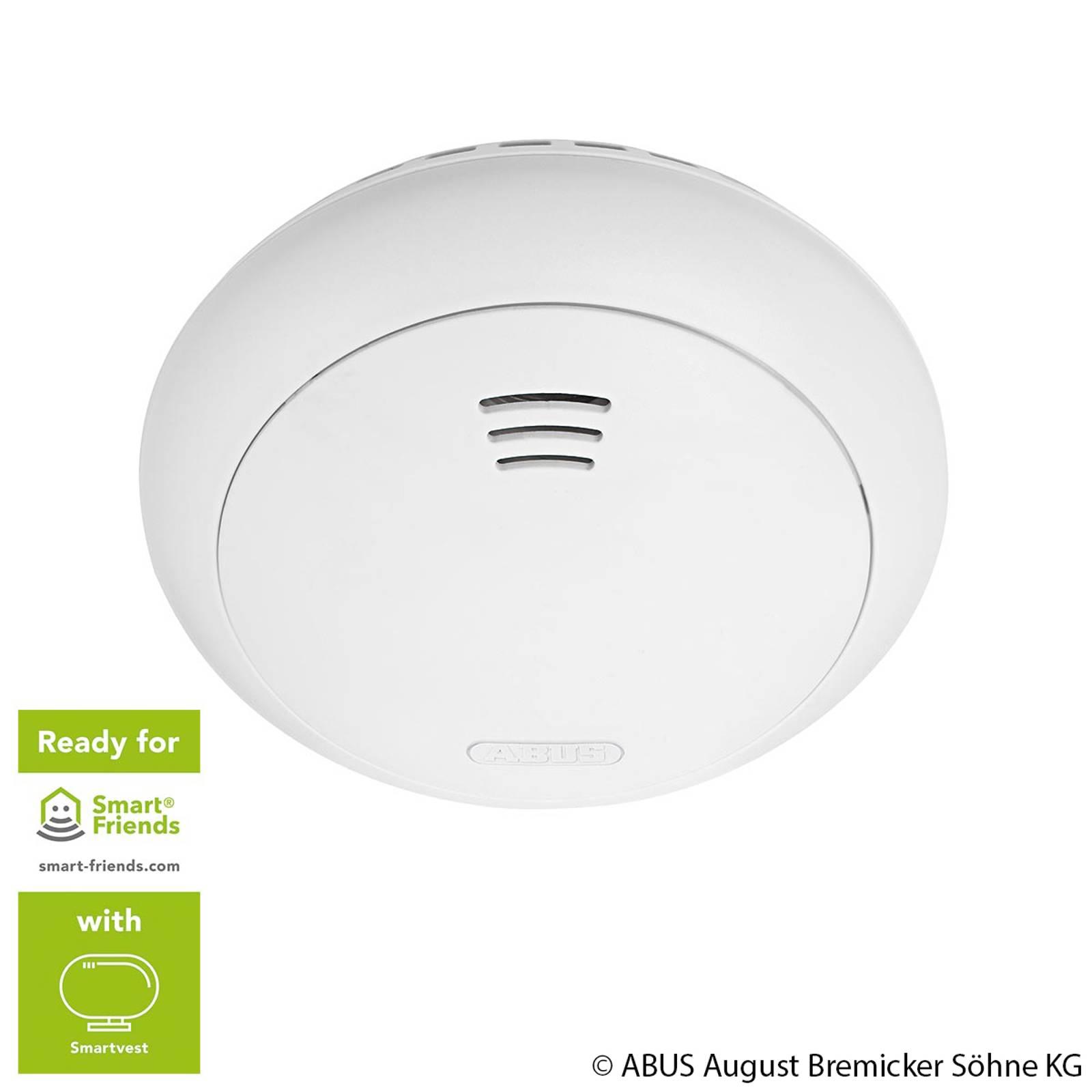 ABUS Smartvest trådlös rökdetektor värmedetektor