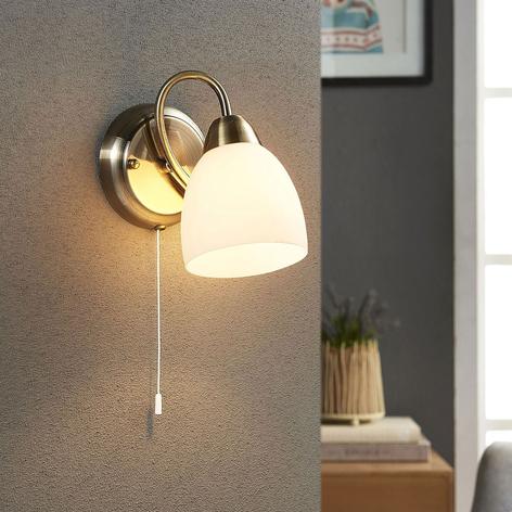 Mael - lampada da parete con interruttore