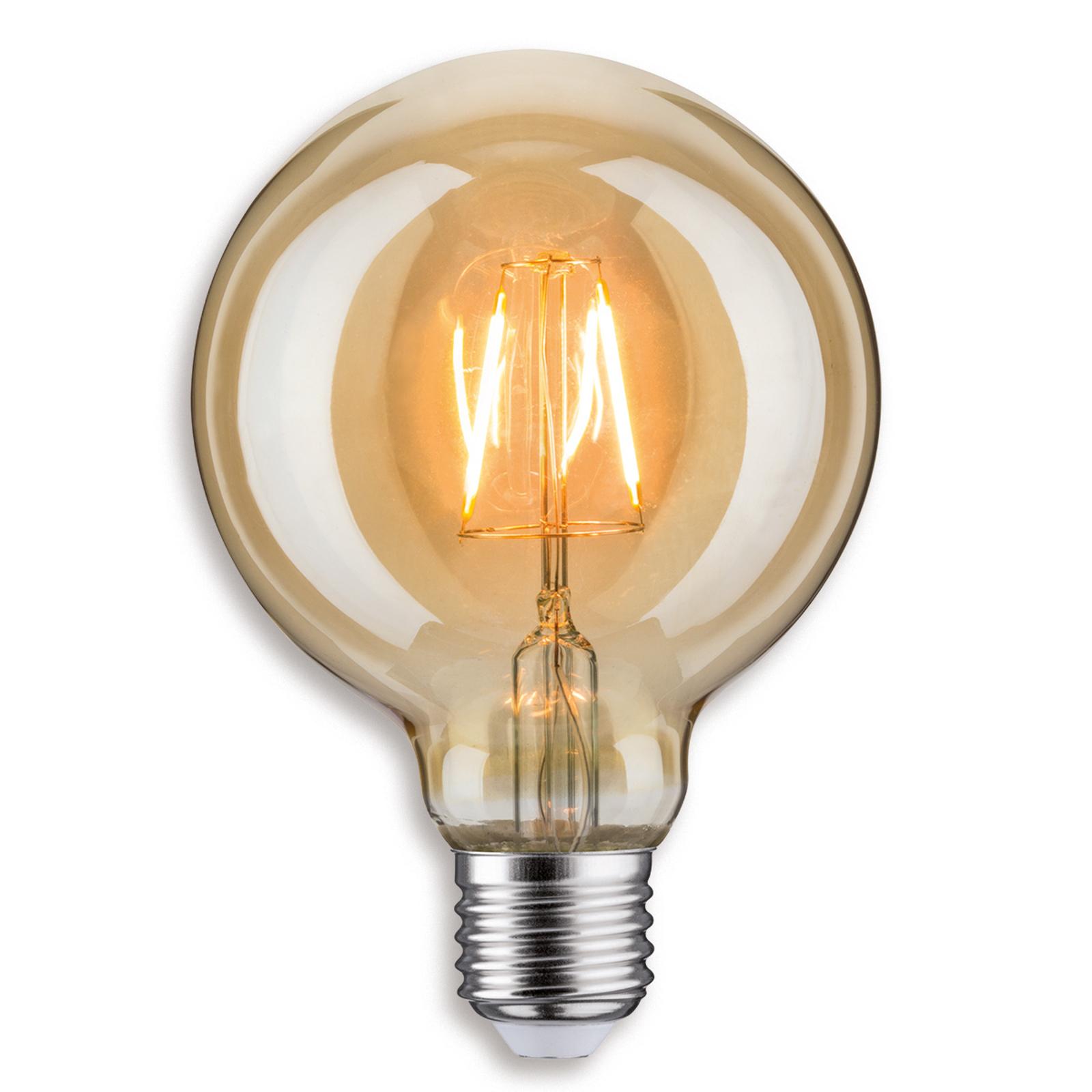 E27 2,5W 817 LED-Globelampe G95 i gull