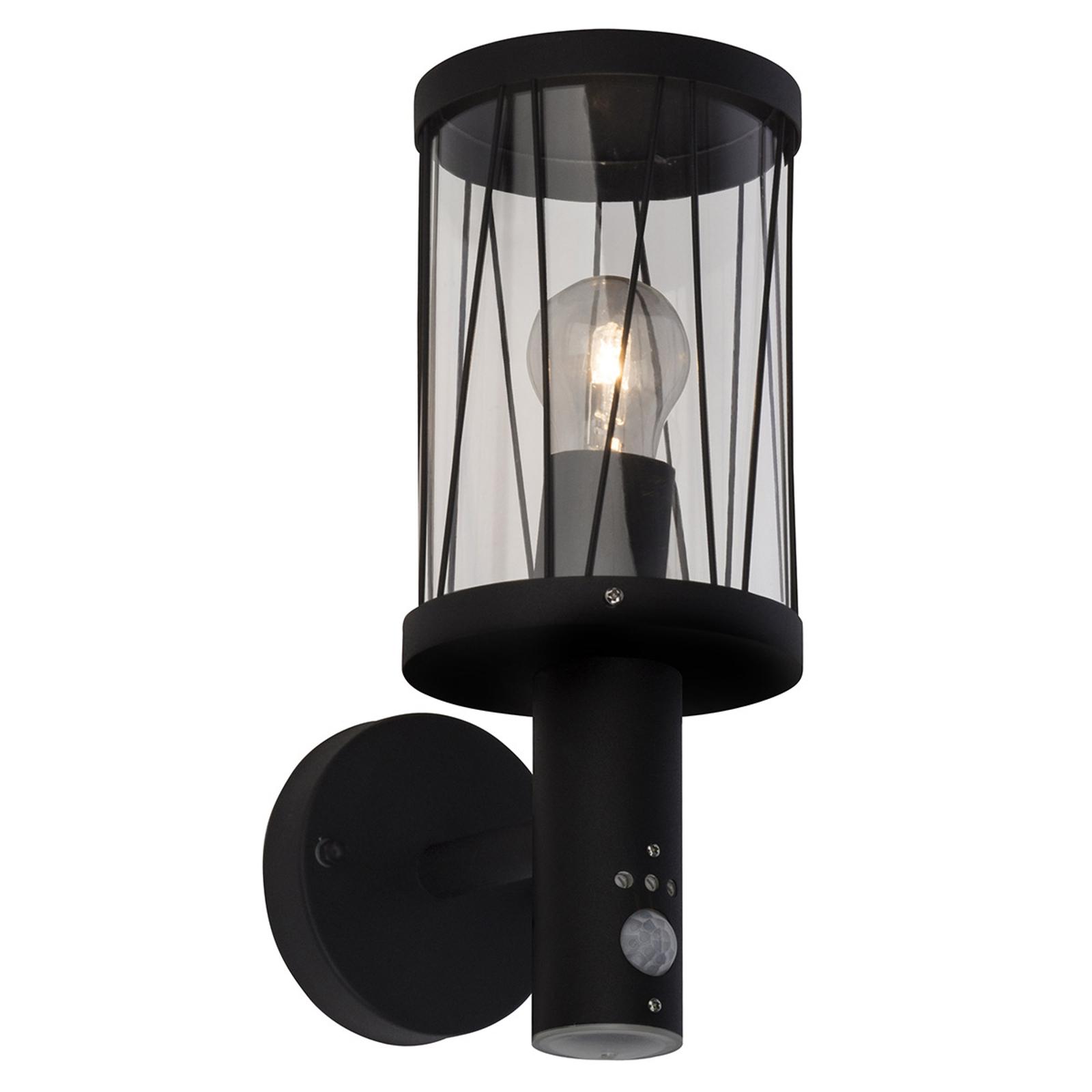 Außenwandlampe Reed mit Ausleger und Sensor