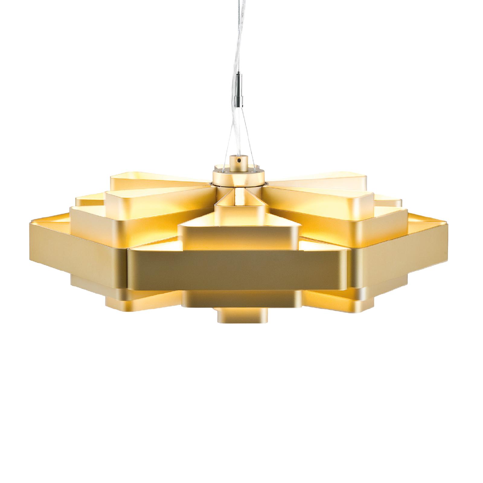 WEVER & DUCRÉ J.J.W. 04 hanglamp goud