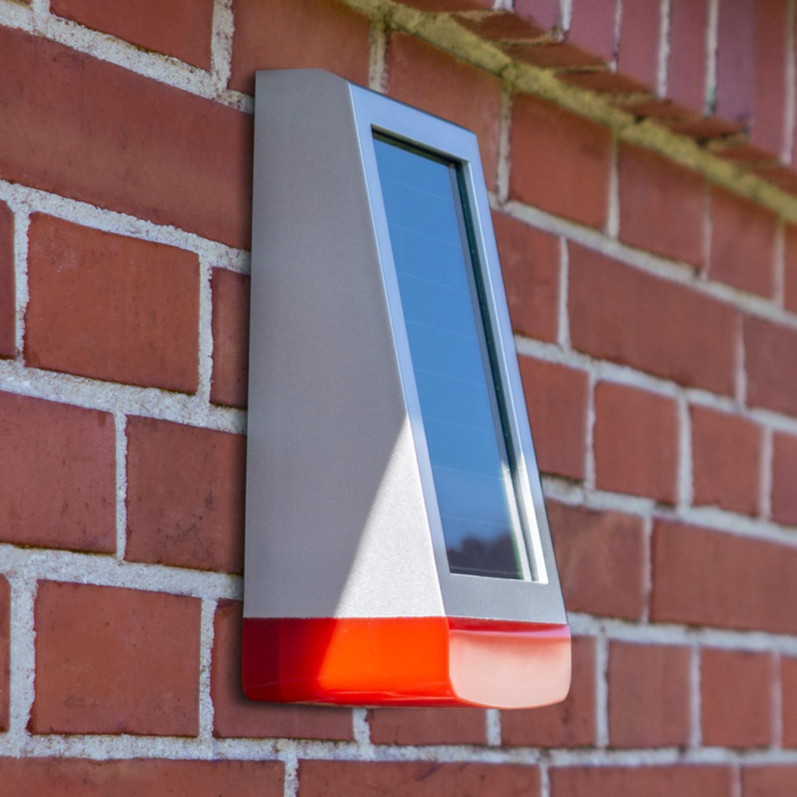 Homematic IP-sirene for utendørs bruk med solpanel