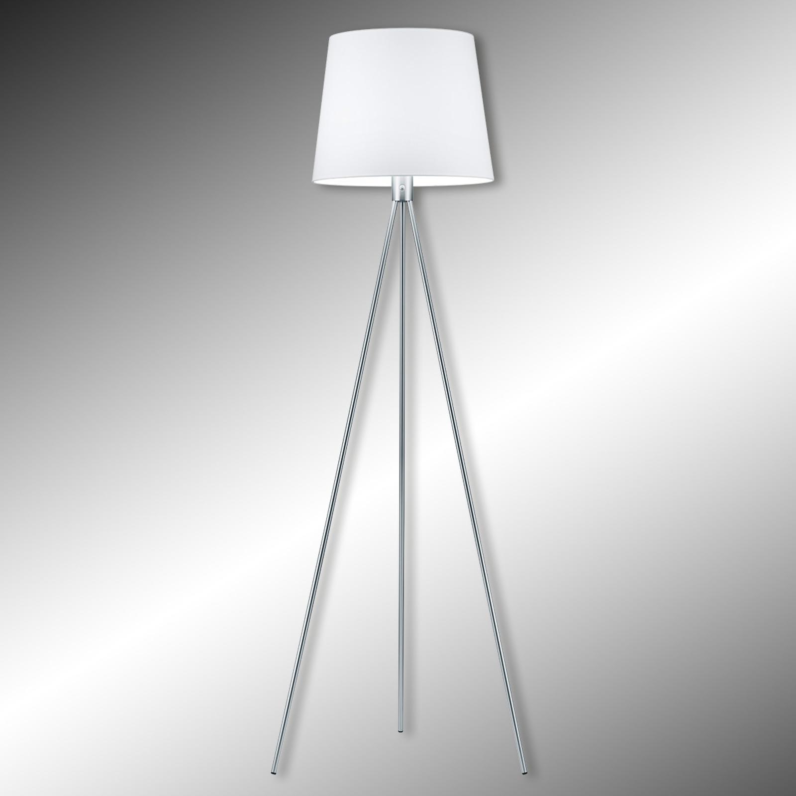 Lampa stojąca PICO na trójnogu, chrom
