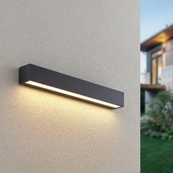 Lucande Lengo LED-Wandlampe, 50 cm, grafit, 1-fl.