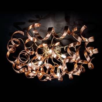 Graziosa plafoniera Copper, rame