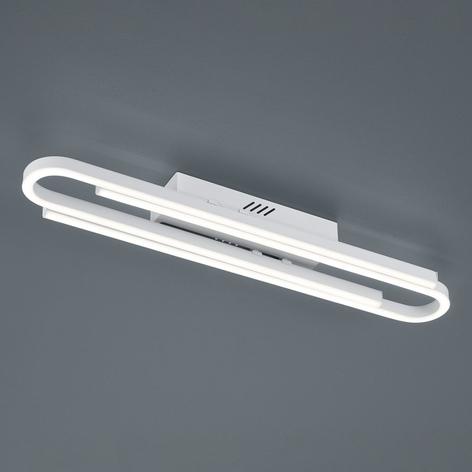 Valkoinen, pitudeltaan sääd. LED-kattolamppu Marga