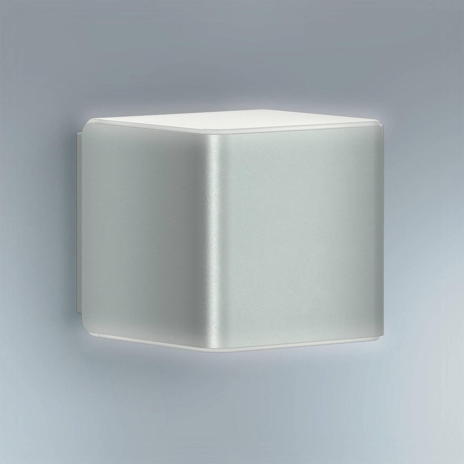 STEINEL L 840 LED iHF Außenwandleuchte, silber