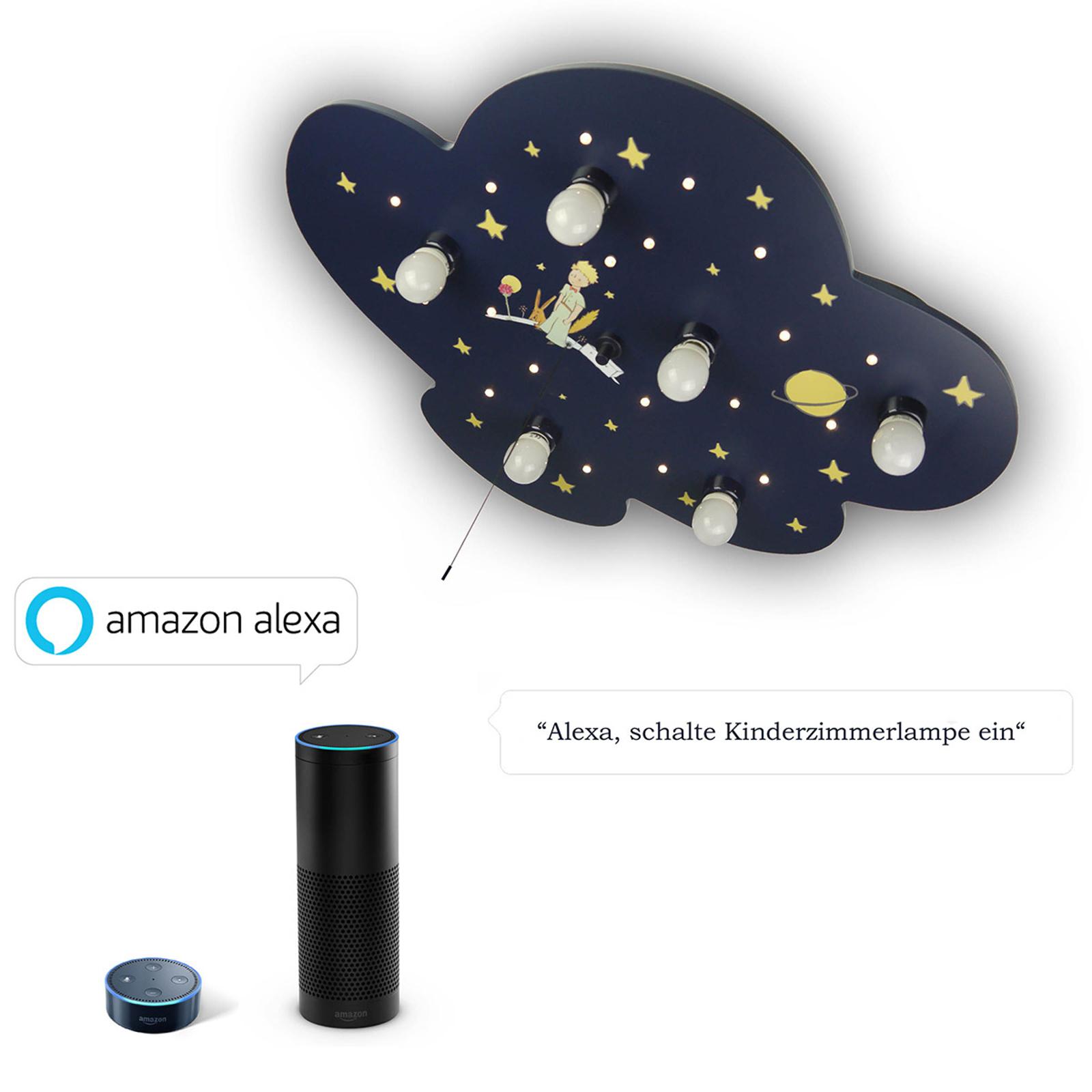 Produktové foto Niermann Standby Stropní světlo Kleiner Prinz Wolke s modulem Alexa