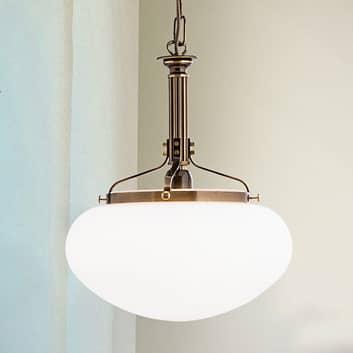 Hanglamp Delia in oud messing, 1-lamp