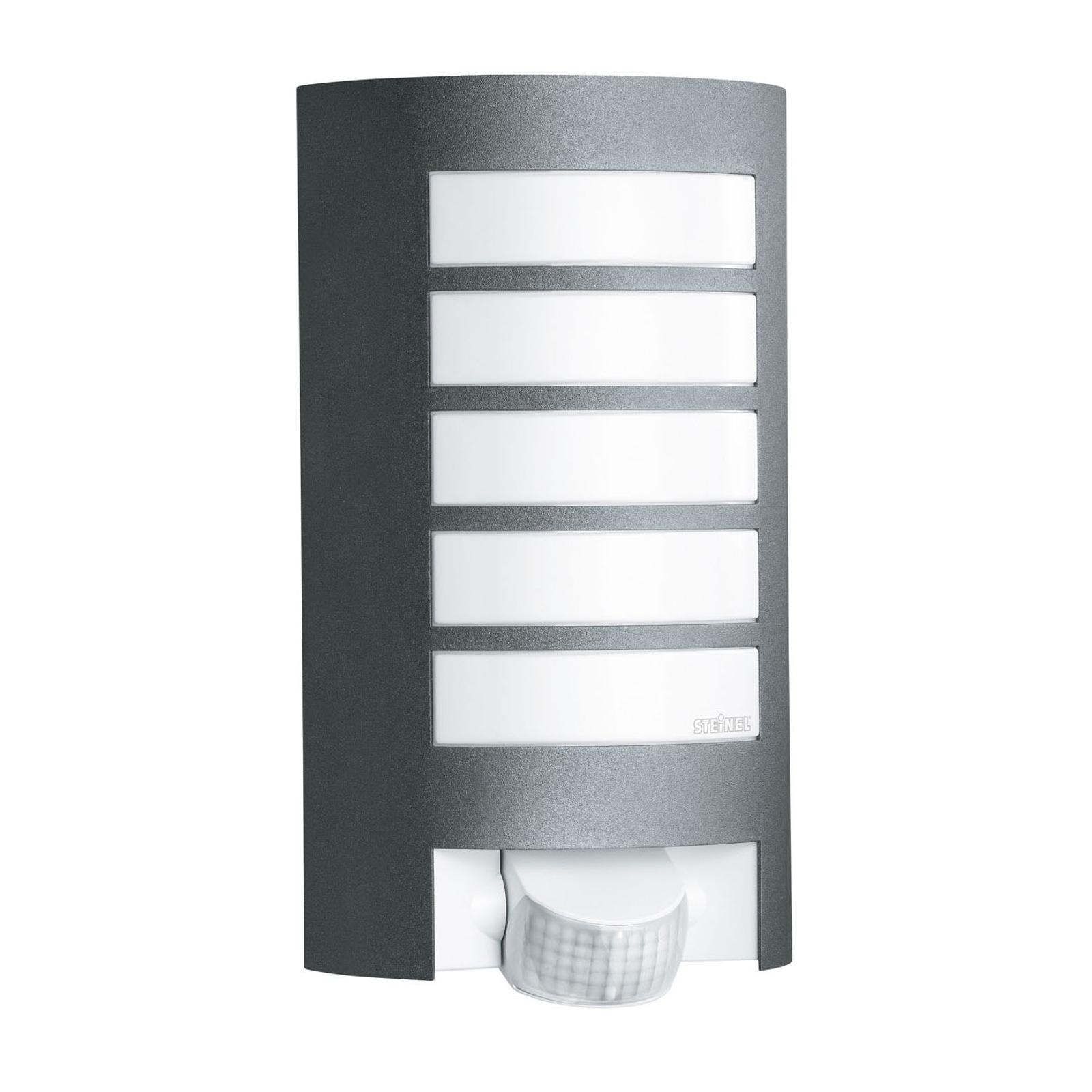 STEINEL L12 Sensor Außenwandleuchte, anthrazit