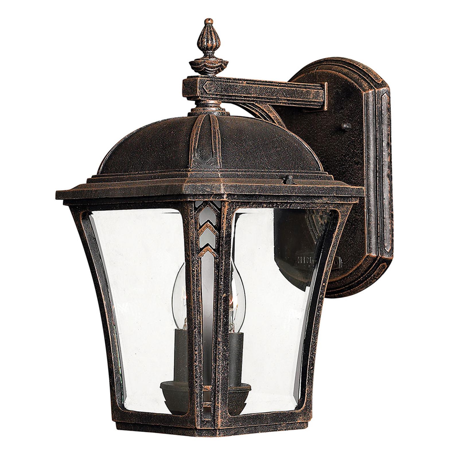 Buitenwandlamp Wabash M, hoogte 34,9 cm