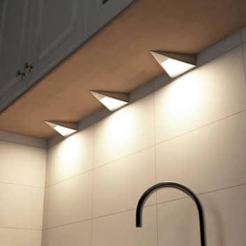 Prios Odia LED-Unterbauleuchte, 3-flammig