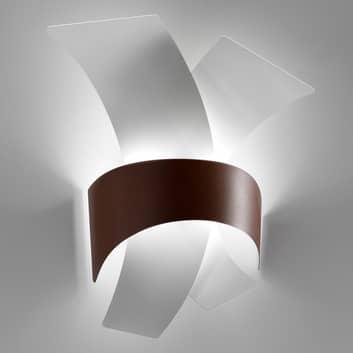 Calypso - LED-vägglampa av metallbågar