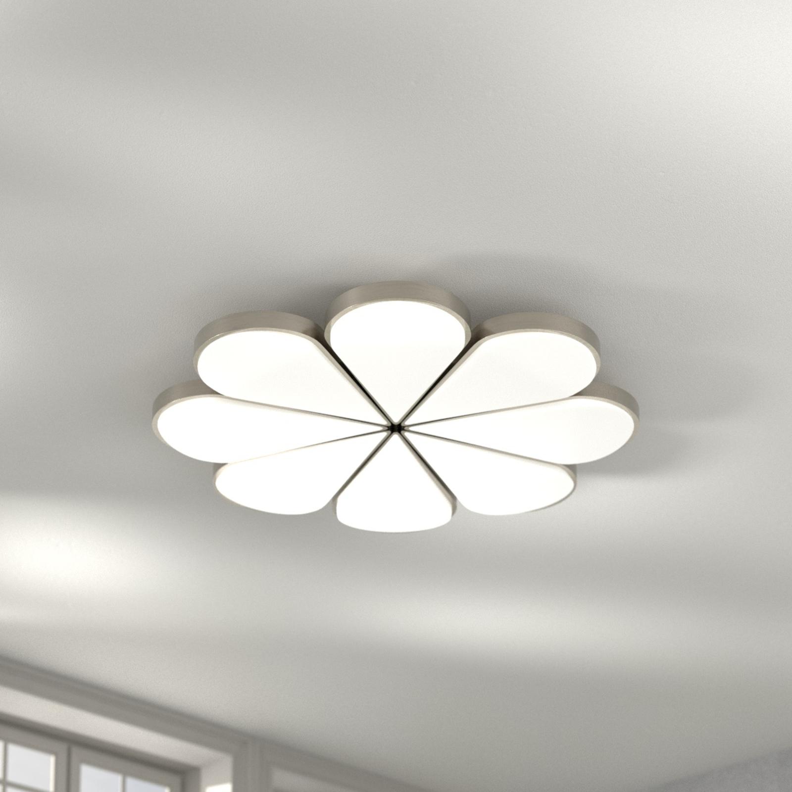 B-Leuchten Flower LED plafondlamp CCT