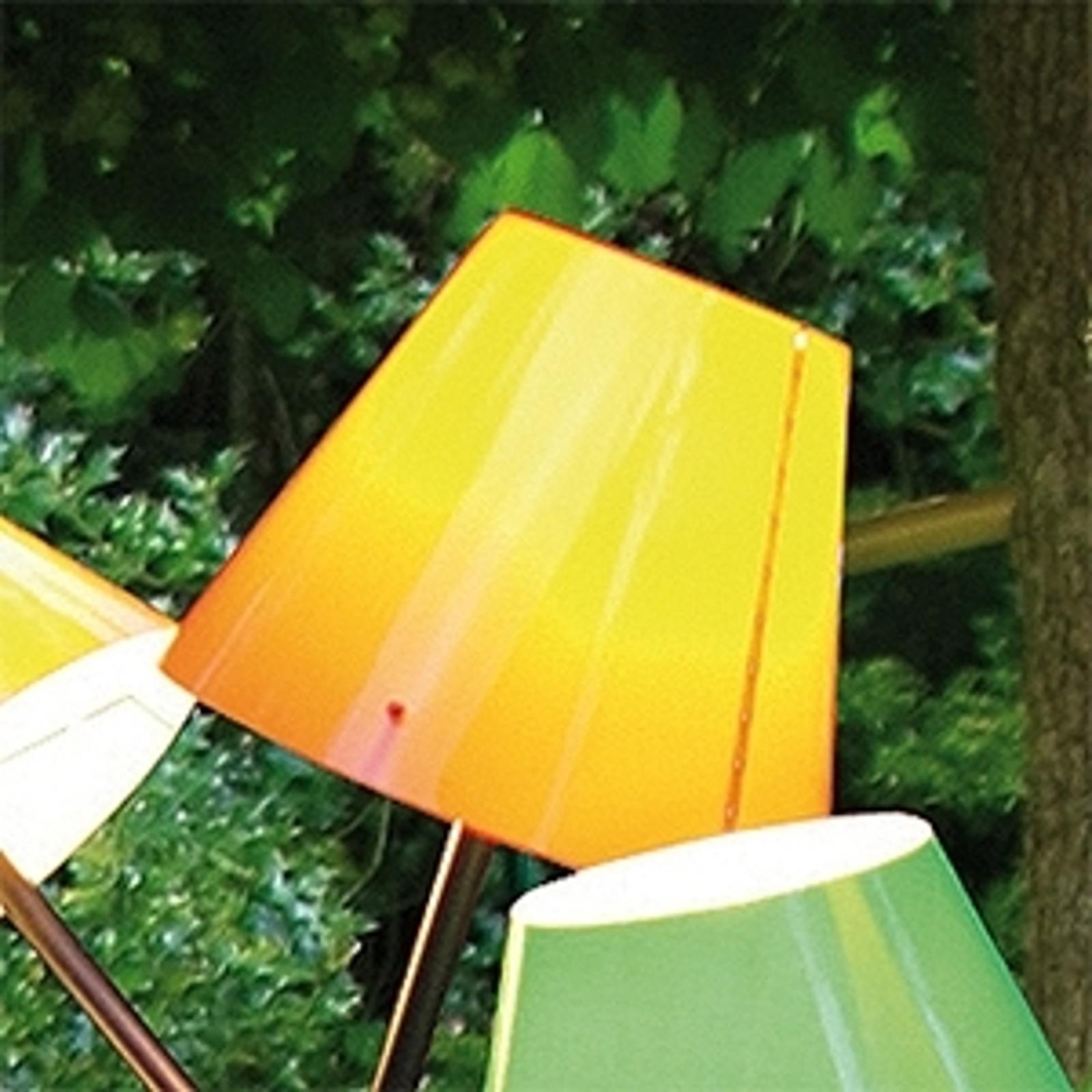 Oranžové stínidlo venkovní světlo OCTOPUS OUTDOOR