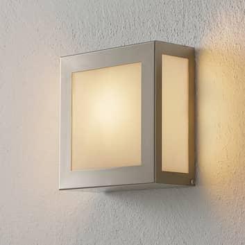 Sensor-Außenwandlampe Aqua Legendo Mini, edelstahl