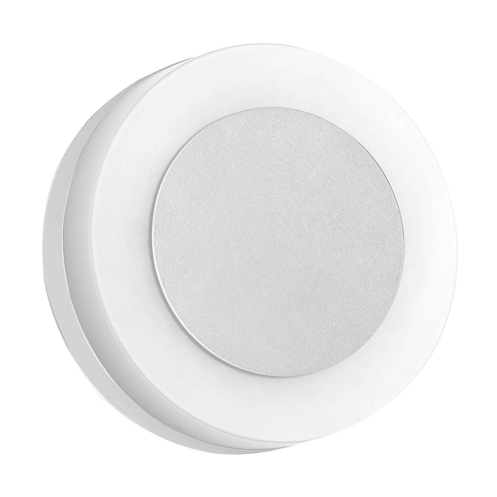 BRUMBERG 10030 LED-Außenwandleuchte, rund, weiß