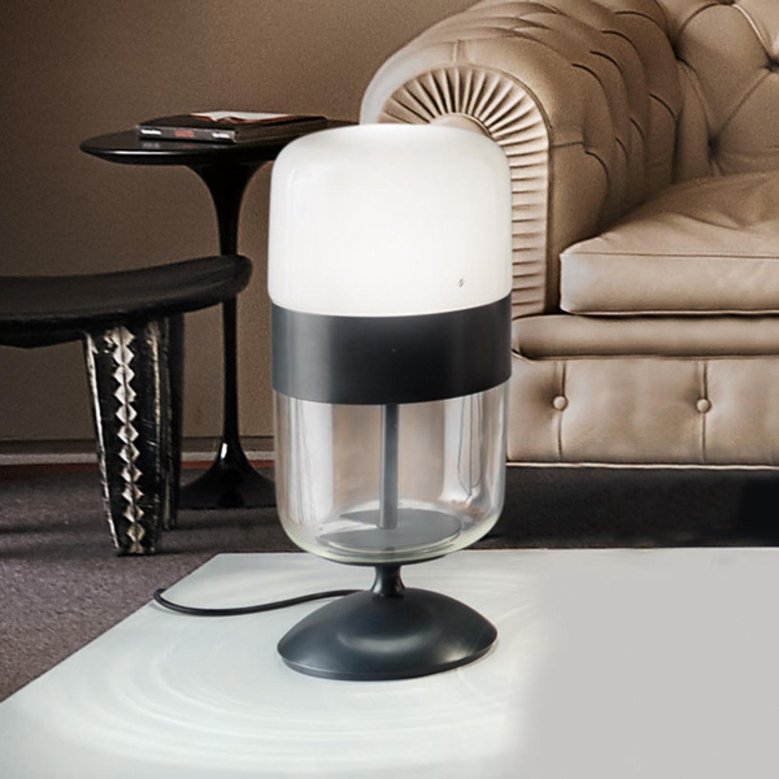 Tafellamp Futura van Muranoglas, 48 cm hoog