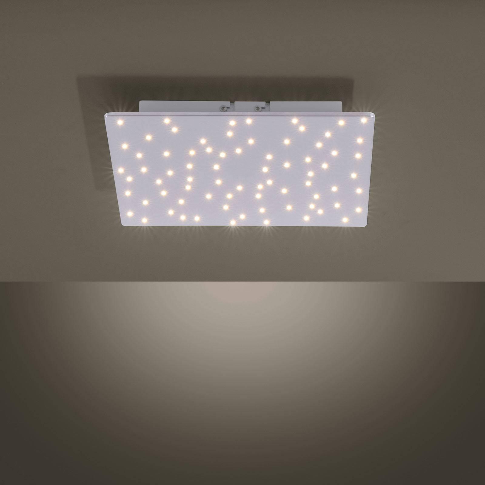 LED-Deckenleuchte Sparkle, tunable white, 30x30 cm