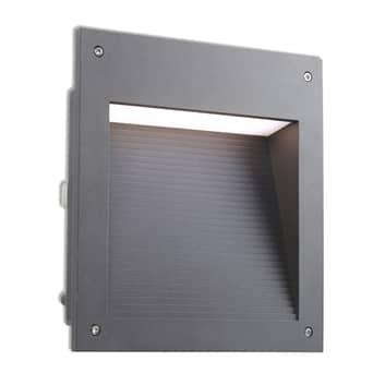 LEDS-C4 Micenas Einbauleuchte 25x26,5 cm anthrazit