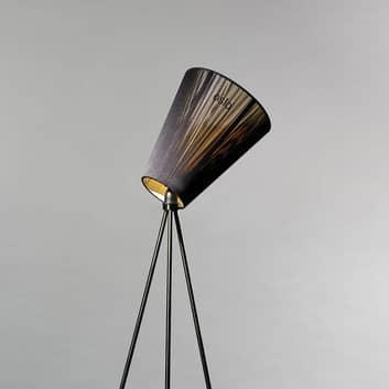 Northern Oslo Wood vloerlamp zwart/zwart