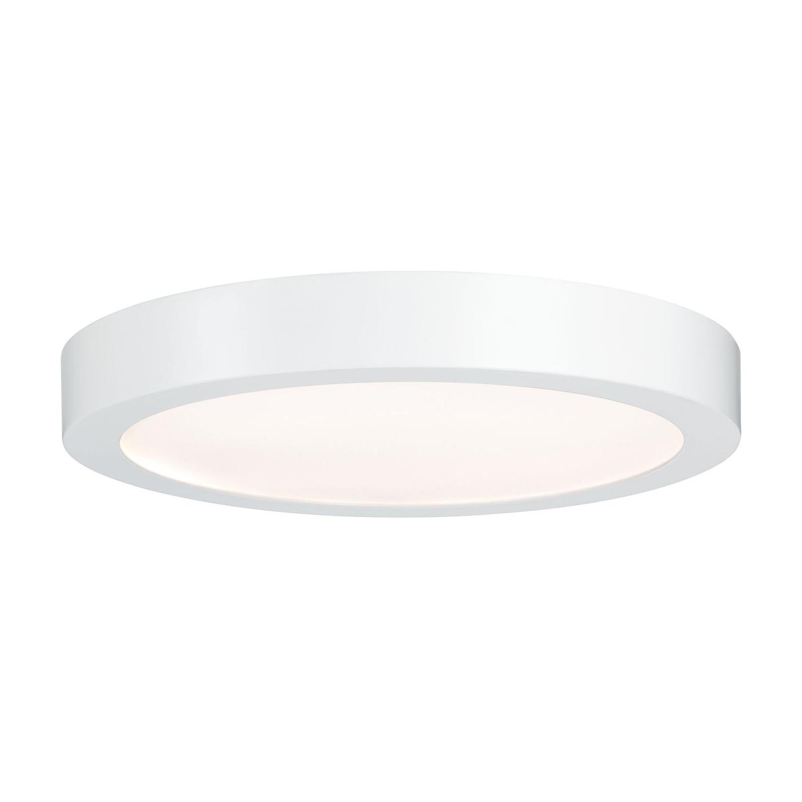 Paulmann Lunar LED-Panel, rund, Ø 30 cm, weiß matt
