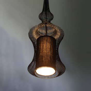Forestier Tibet lámpara colgante, negro