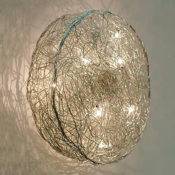 Lámpara de pared de diseño Rotola, diámetro 100 cm