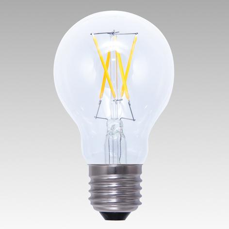 E27 4W 926 LED-lyspære dimbar klar varmhvit