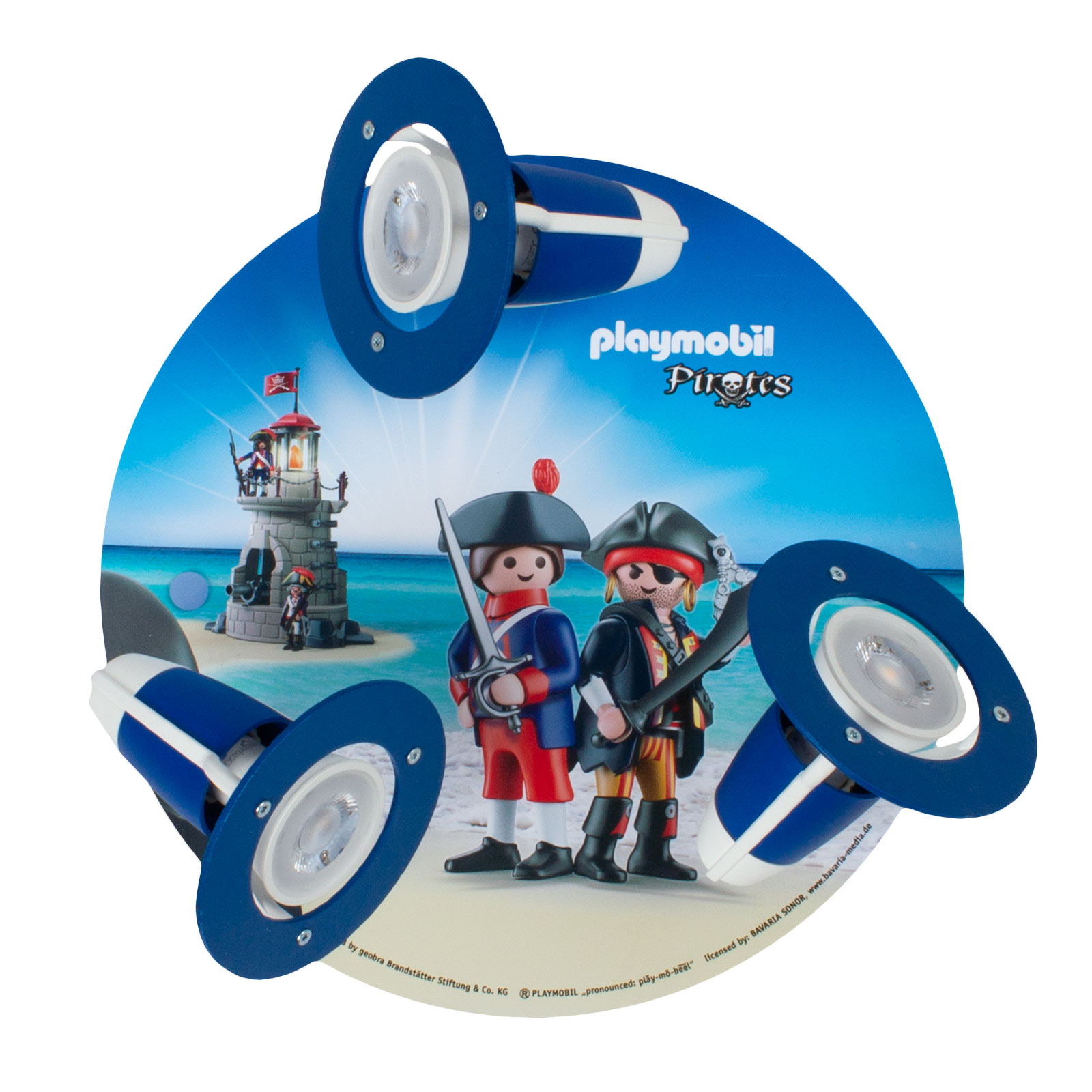 Lampa sufitowa 3-punktowy spot PLAYMOBIL Pirates