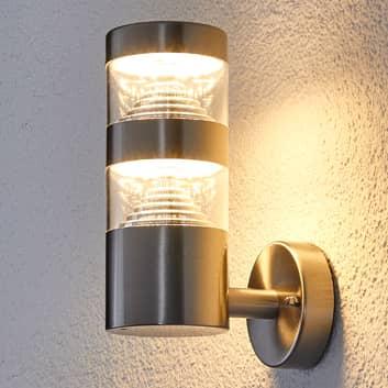 LED buitenwandlamp Lanea recht