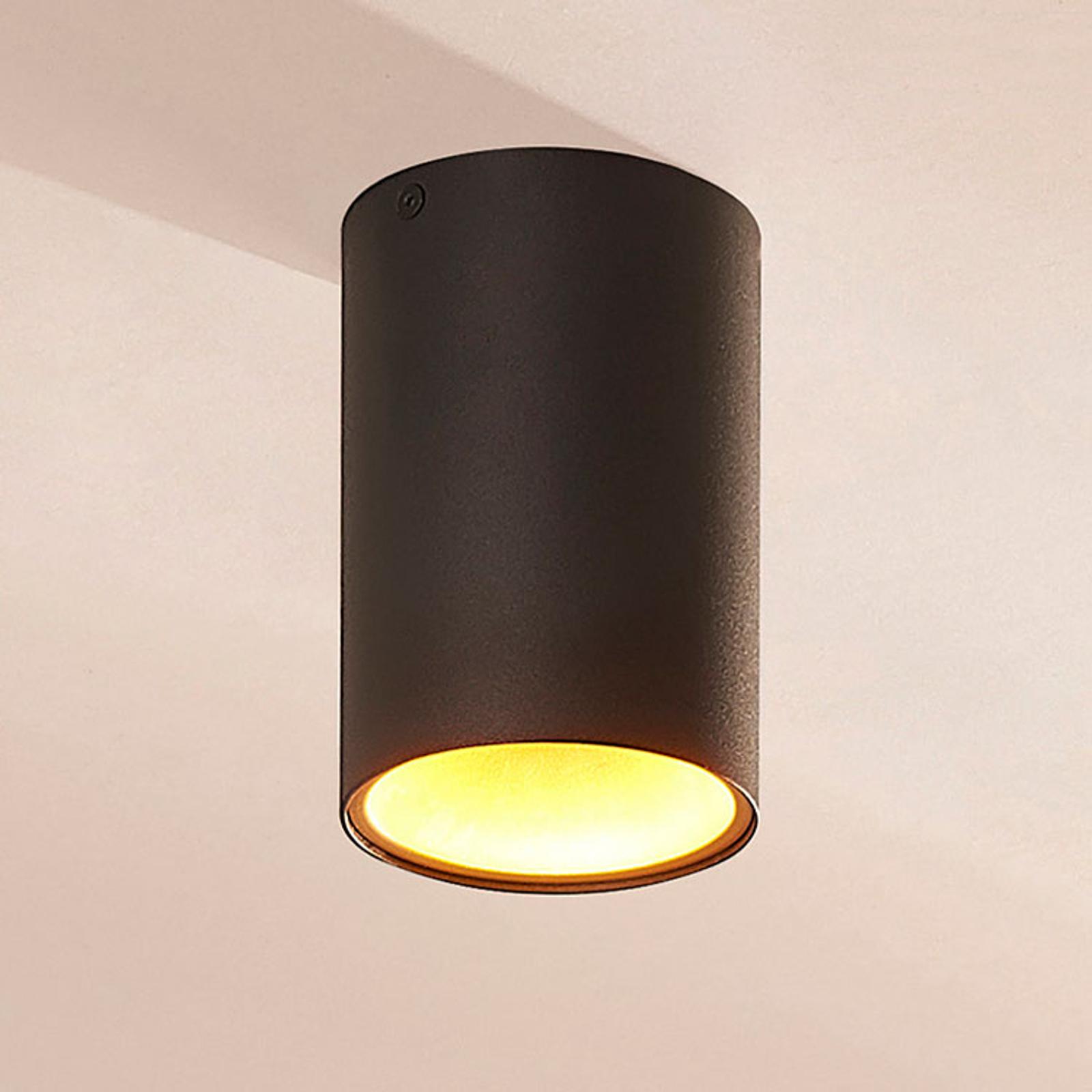 Vinja Halogen Ceiling Light With Inner Reflector Lights Co Uk