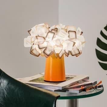 Clizia - designerbordlampe i orange