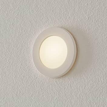 BEGA Accenta LED-innfellingslampe rund med ramme
