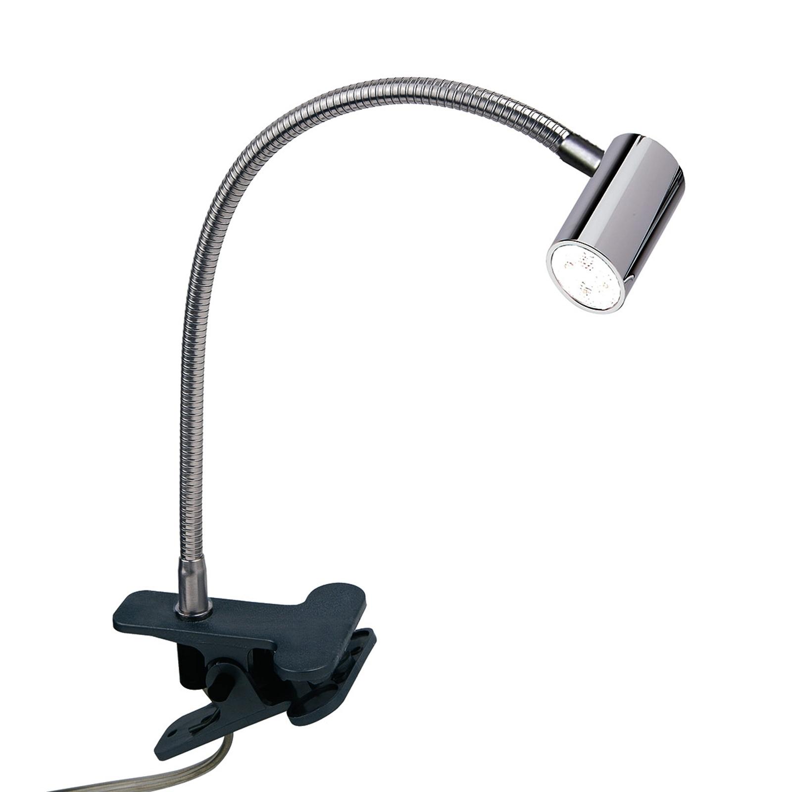 Praktická LED lampa se svorkou Karen