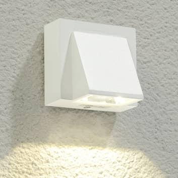 Bílé LED venkovní nástěnné osvětlení Marik