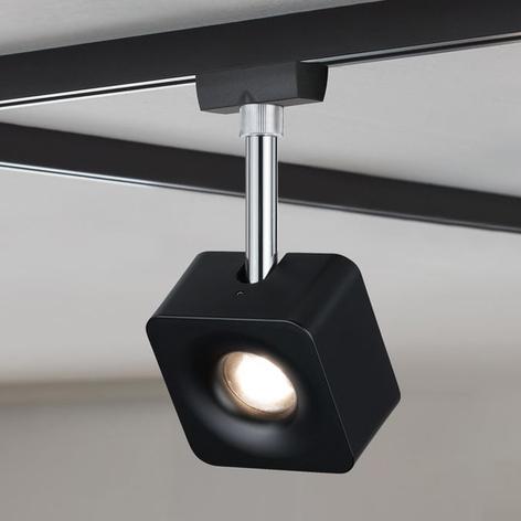 Paulmann URail spot LED Cube noir dimmable