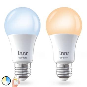 E27 9W bombilla LED Innr Smart Bulb Comfort, 2 ud