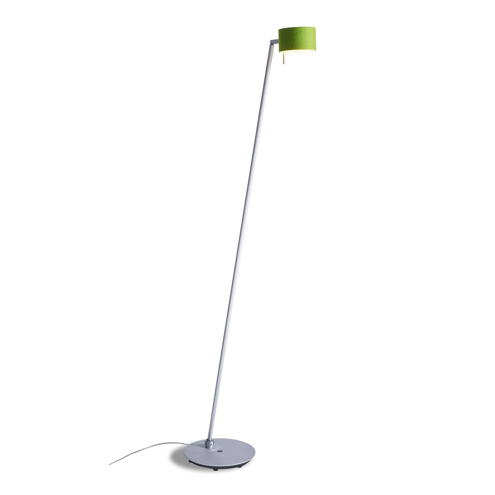 Lampadaire LED CAI dimmable, pomme/blanc cassé