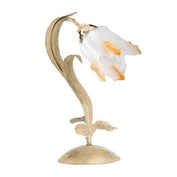 Pöytälamppu Elena, kukan muotoinen, 1-lamppuinen