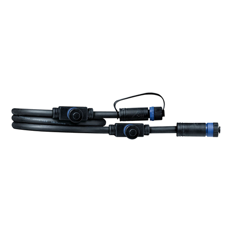 Paulmann Plug & Shine 93994 cable 1m, 1 en/3 ext