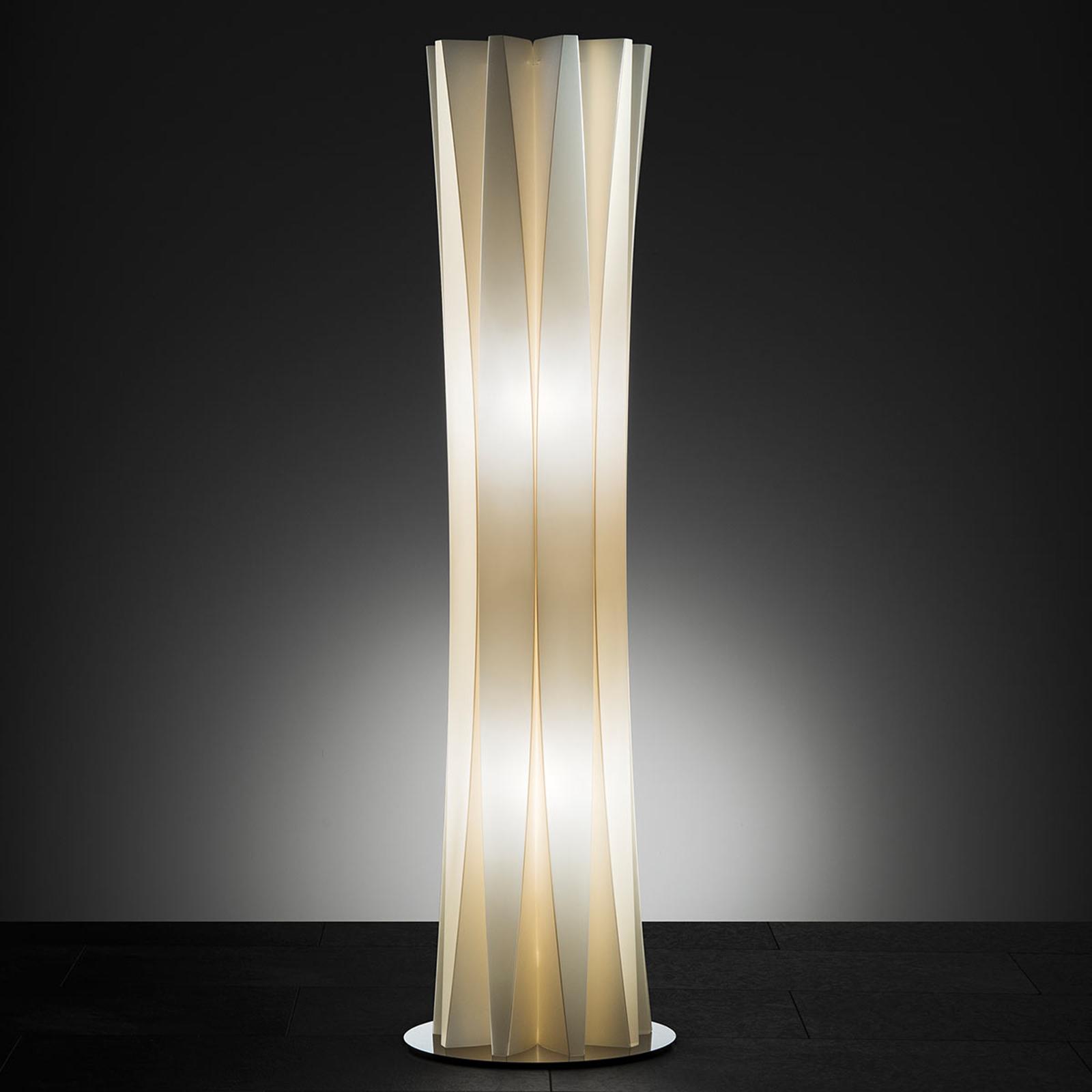 Slamp Bach Stehleuchte, Höhe 116 cm, gold
