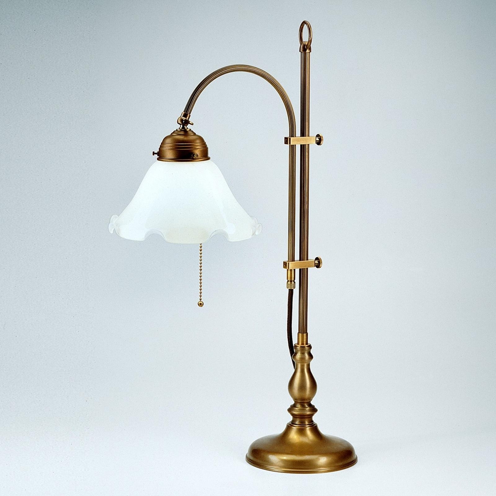 Lámpara de mesa Ernst, ajustable de forma práctica