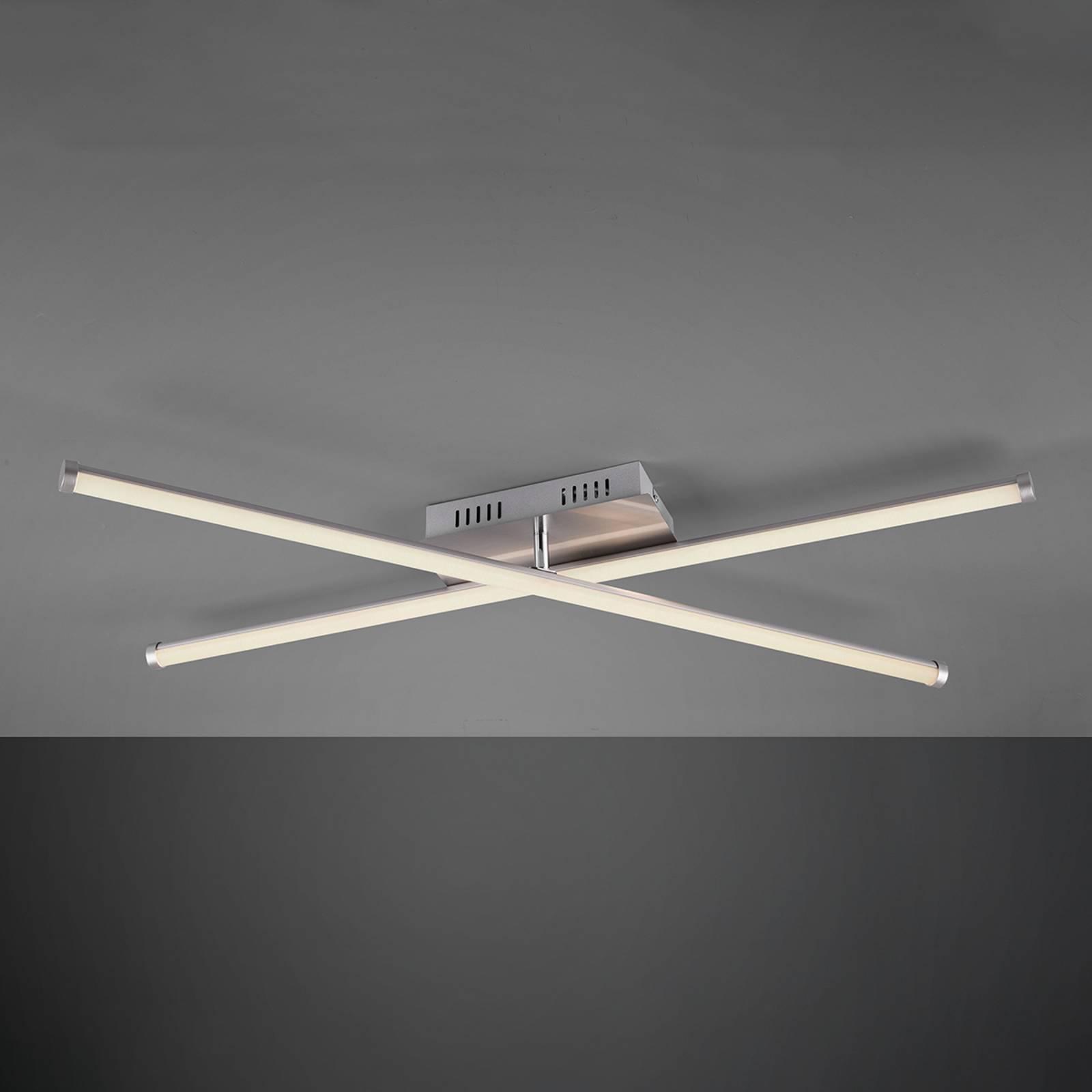 LED-Deckenleuchte Smaragd, WiZ, zweiflammig