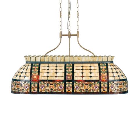 Sensacional lámp. colgante Gani - estilo Tiffany