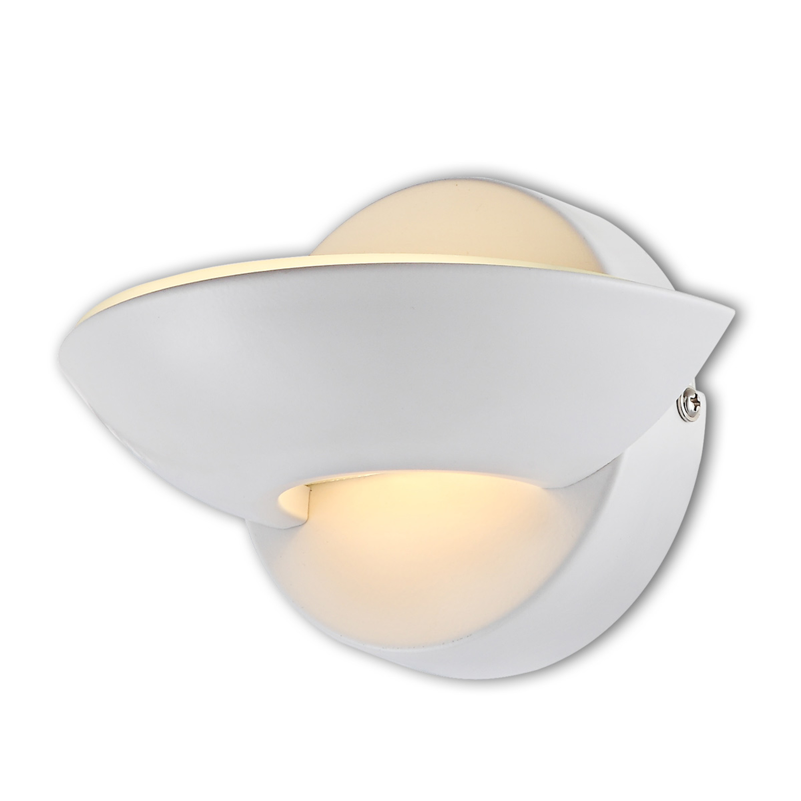 Bílé LED nástěnné svítidlo Cosimo