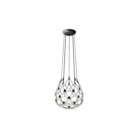 Luceplan Mesh lámpara colgante Ø 100cm Wireless