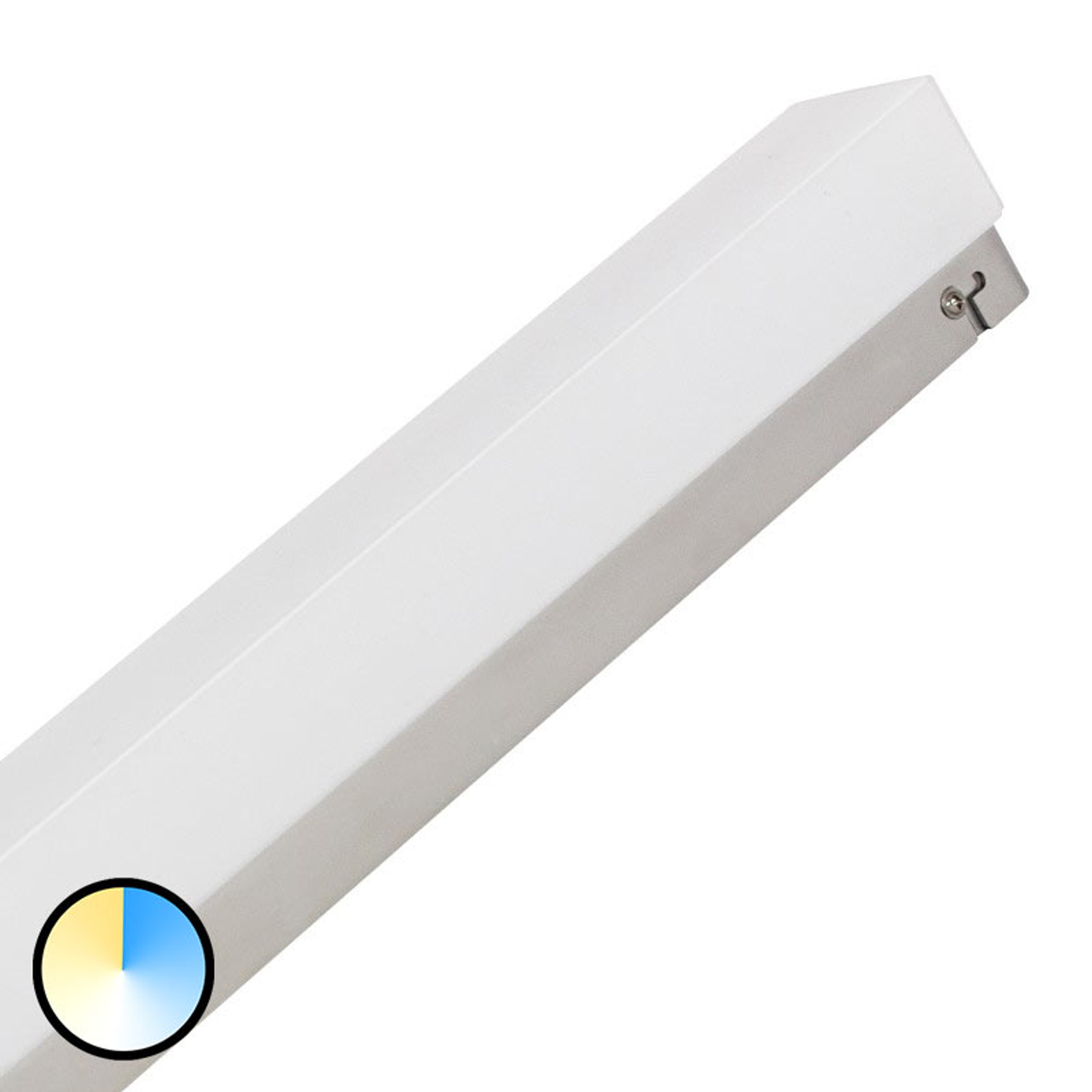 Mirror Light Switch Tone da specchi 90cm cromo