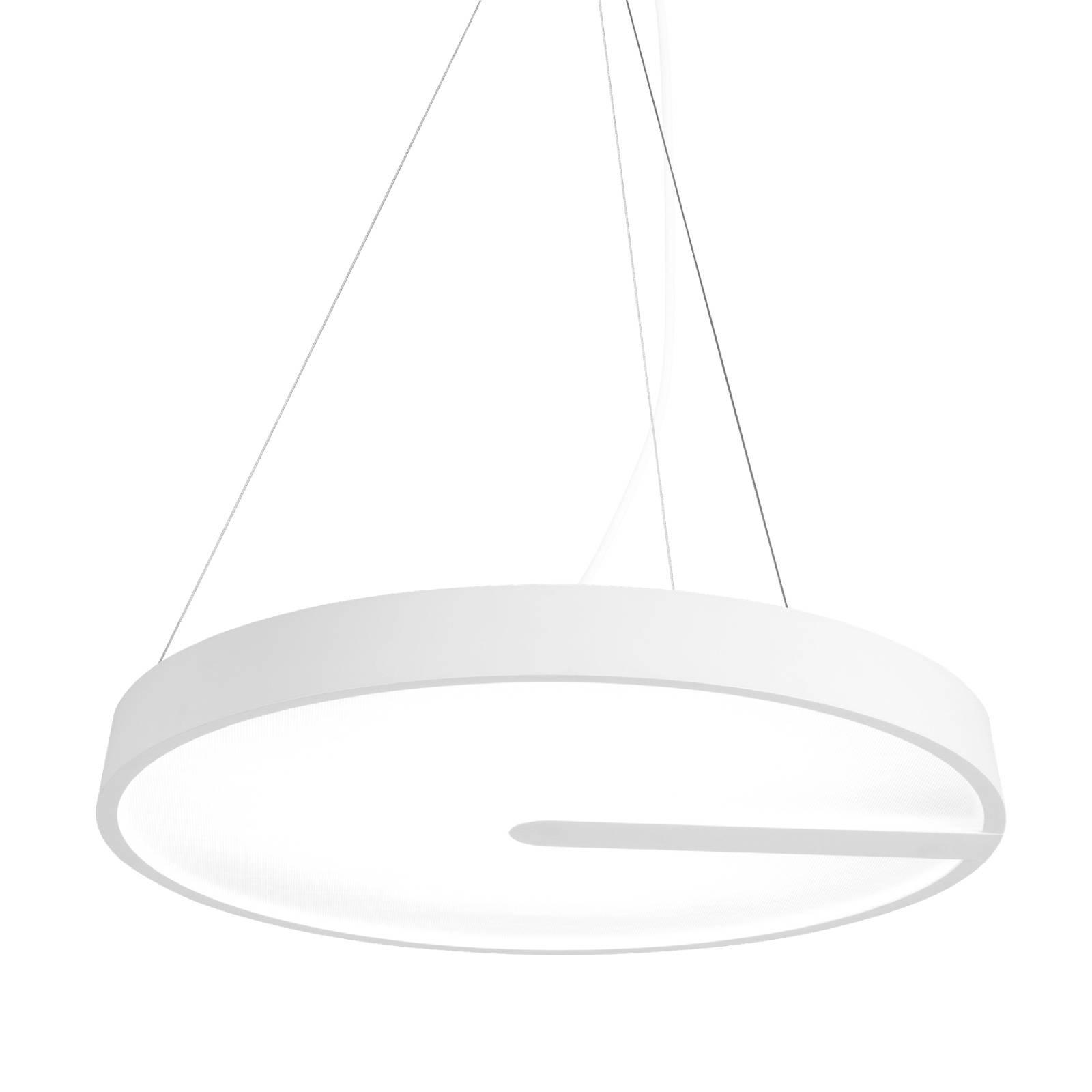 XAL Sonic LED-Pendelleuchte, weiß