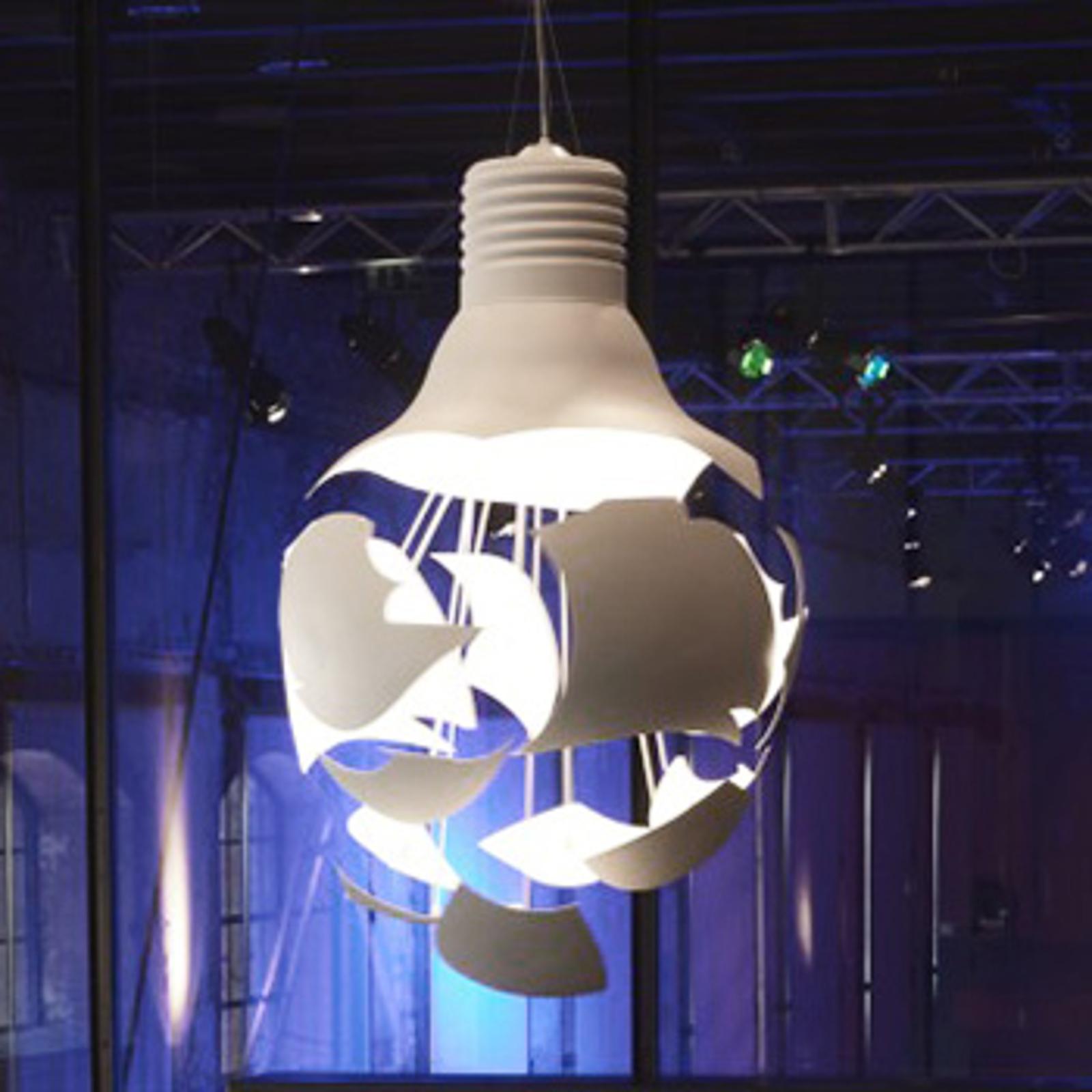 BROKEN BULB - wyjątkowa lampa wisząca